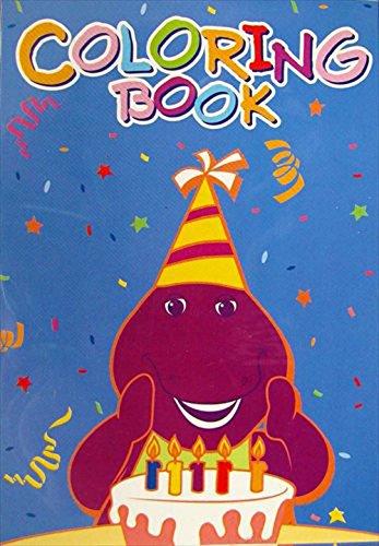 Barney Mini Coloring Books / Favors (4ct) ()