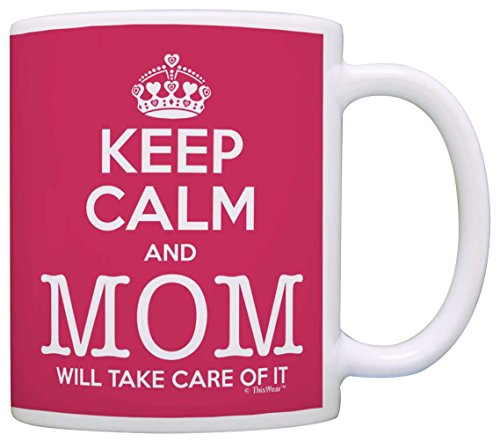 Mothers Gift Keep Funny Coffee