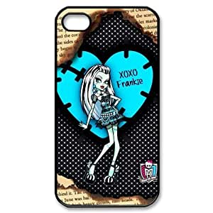 Cyber Monday Store Customize Cartoon Game Monster High Back Case for iphone 4 4S JN4S-1916
