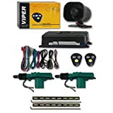 Viper 3100V 1-Way Car Alarm System with 2 Remotes & Keyless Entry +