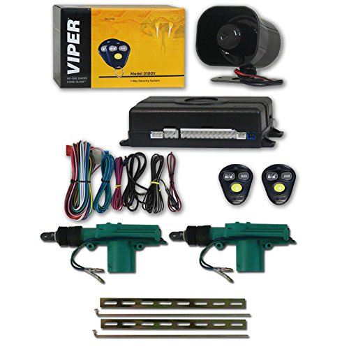 Viper 3100V 1-Way Car Alarm Syst...