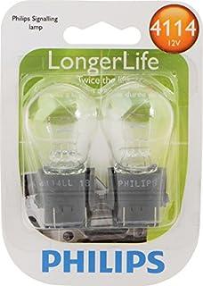 Philips 4114LLB2 4114 LongerLife Miniature Bulb, 2 Pack