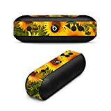 MightySkins Skin For Beats by Dr. Dre Pill Plus - Sunflowers   Protective, Durable, and Unique Vinyl Decal wrap cover   Easy To Apply, Remove, and Change Styles   Made in the USA