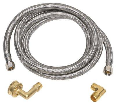 Homewerks Worldwide 7223-72-38-6E Dishwasher Supply Line - Quantity 10 by Homewerks Worldwide