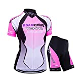 Best Cycling Jackets - ZEROBIKE Women's Short Sleeve Cycling Jersey Jacket Cycling Review