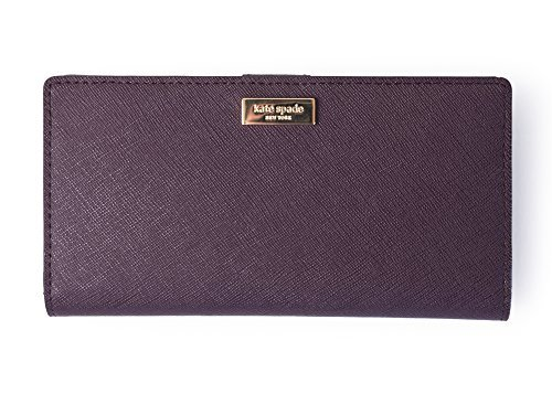Kate Spade Stacy Laurel Way Wallet Wlru2673 Mahogany