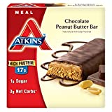Atkins Meal Bar, Chocolate Peanut Butter, 5 Bars