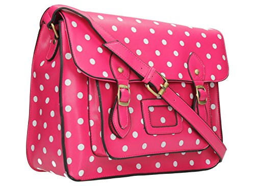 SwankySwans - Borsa a tracolla donna Rosa (Bubble Pink)