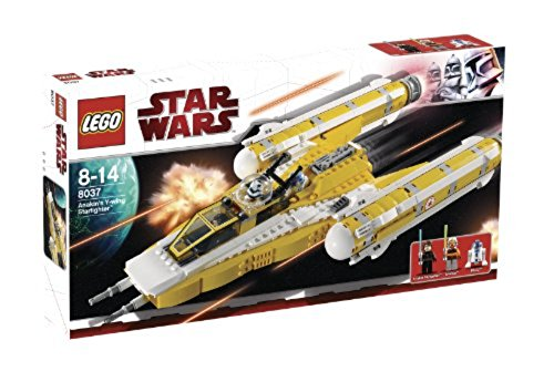Lego Star Wars 8037 Anakin's Y-wing Starfighter 190757 Building_Sets