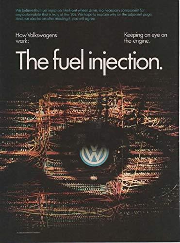 Magazine Print Ad: 1982 VW Volkswagen Rabbit,