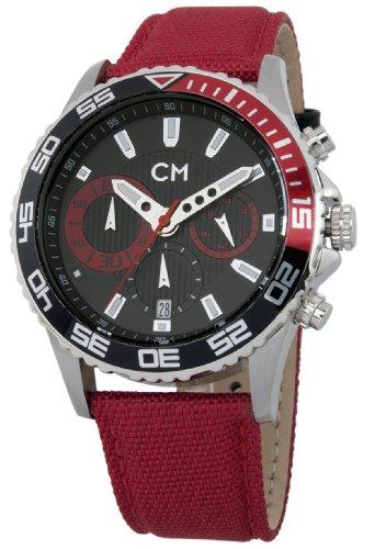 Carlo Watch Leather Monte (Carlo Monti Men's CM509-124B Avellino Analog-Quartz Watch)
