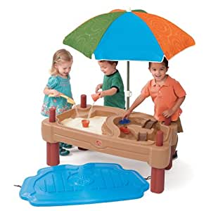 Amazon Com Step2 Play Up Adjustable Sand Water Table