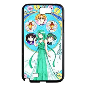 Samsung Galaxy Note 2 Black phone case Sailor Moon Best Xmas Gift for Girlfriend UGD8017383
