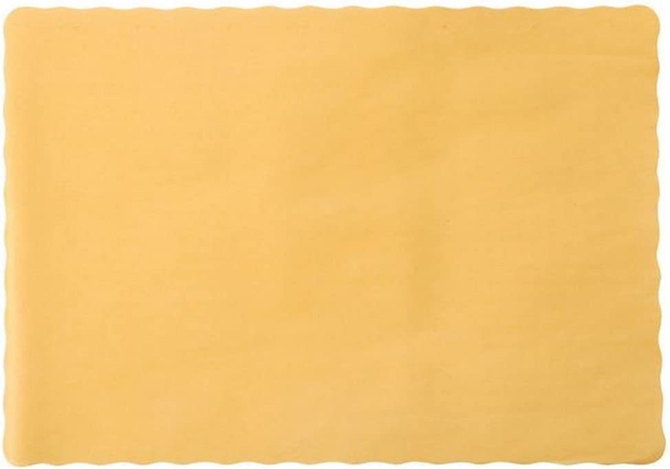Gold Paper Placemats Pack of 50 Party Supply