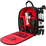 G-raphy Camera Bag Camera Backpack with Rain Cover for Canon, Nikon , Sony ,Lens, Tripod and Accessories ( Small Size)