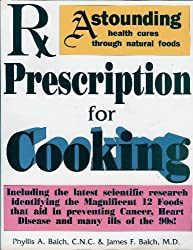 Rx prescription for cooking and dietary wellness