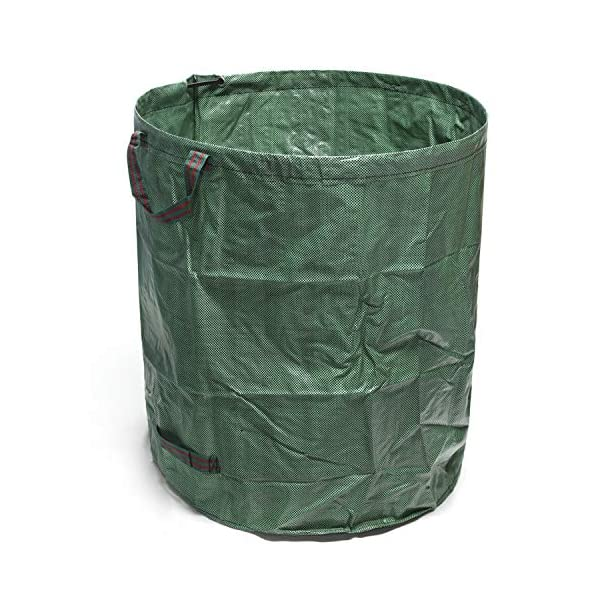 GearTaker Bulk Bags Garden Waste Bags Reusable and Collapsible Lawn Leaf Container