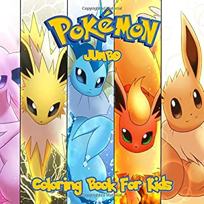 - Pokemon Coloring Book: Great Jumbo Coloring Pages For Kids: Jackson, Harry  L.: 9781701788602: Amazon.com: Books