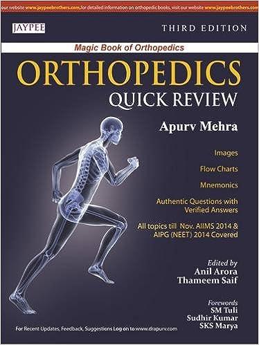 Orthopedics Quick Review: Amazon co uk: Apurv Mehra: 9789351527343