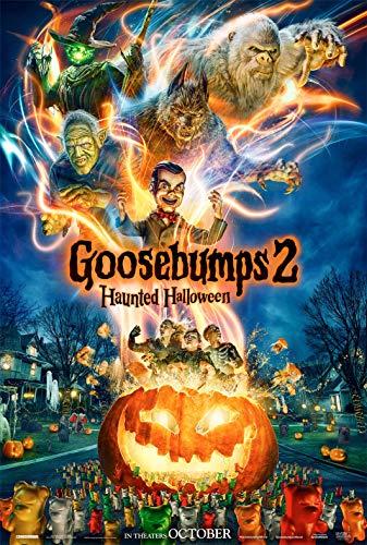 Goosebumps 2: Haunted Halloween Movie Poster Limited Print Photo Wendi McLendon-Covey, Jack Black, Madison Iseman Size 8x10#1