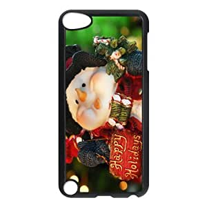 diy zhengDesign Case Christmas Santa Claus Print on Hard Plastic Back Case Cover iphone 5ctouch 5 Case Perfect as Christmas gift(4)