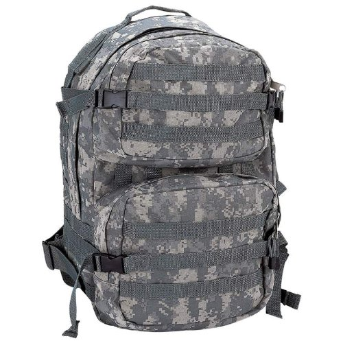 Extreme Pak Digital Camo Water-Resistant, Heavy-Duty Army Backpack by ExtremePak
