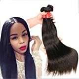 Futuretrend Good hair 7a Peruvian Virgin Hair Straight 4pcs/lots Rosa Hair Products 100% Peruvian Human Hair Extensions Bundles Deals Natural Color 50g/ps 4pcs/ Lot Total 200g 4ps Bundles