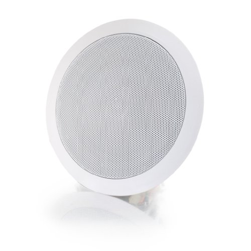 C2G/Cables to Go 39904 Ceiling Speaker, White (6 Inch) by C2G