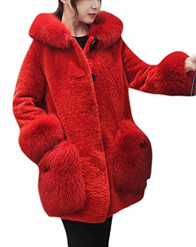 Girls Faux Shearling Coats - 5