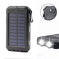 Solar Power Bank 20000mAh Solar Charger ...
