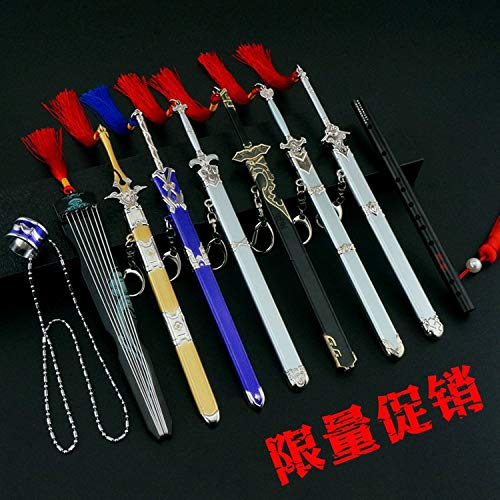 8.8'' Inches China Mo Dao Zu Shi Metal Model Sword Toy Collection
