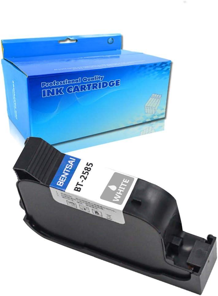 1PK White Ink Cartridge OGOUGUAN Original Handheld Ink Cartridge Replacement for Handheld Inkjet Printer