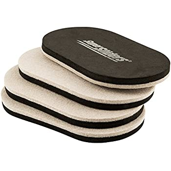 High Quality Reusable Felt Sliders For Hard Surfaces U2013 Move Heavy Furniture Quickly And  Easily With Furniture Sliders