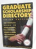 Graduate Scholarship Directory, Daniel J. Cassidy, 1564141136