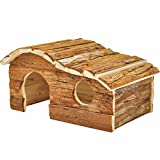 Niteangel Natural Wooden Houses (10.4'' x 5.3'' x 6.3'')