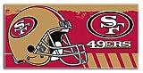 "NFL San Francisco 49ers 34"" x 70 Colossal Pool Beach Towel"