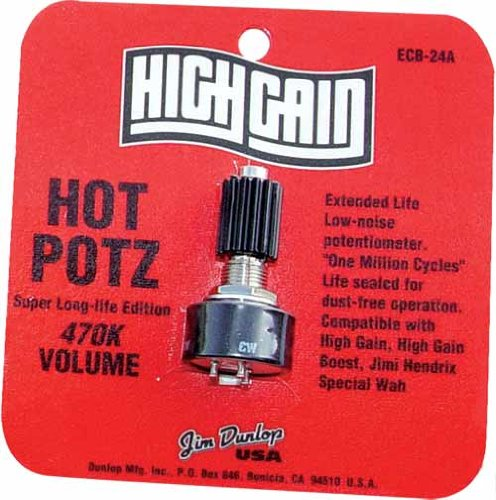 Jim Dunlop ECB24A 24A Hot Potz 470K Poti by Jim Dunlop