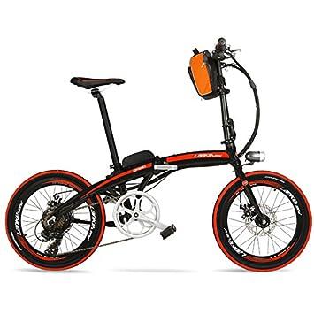 LANKELEISI QF600 Elite Big Powerful Portable 20 Pulgadas Bicicleta ...