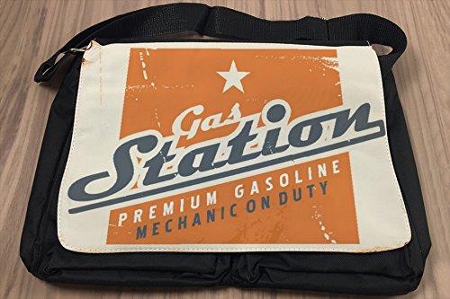 Borsa Tracolla Garage Gas e stazioni di servizio Stampato