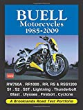 Buell Motorcycles Road Test Portfolio 1985-2009