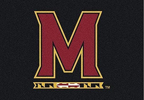 College Rug 10'9 (Milliken Maryland College Team Spirit Area Rug by, 7'8