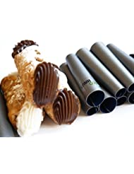 Mini Cannoli Tube - Set of 10pcs 2.75 Teflon Non-stick coating Form - Easy to clean