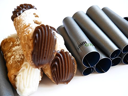 Mini Cannoli Tube - Set of 10pcs 2.75'' Teflon Non-stick coating Form - Easy to clean by Eco Haus Living