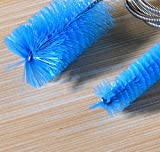 fish pipe - BingQing Flexible155cm Double Ended Water Filter Pump Pipe Cleaning Brush Aquarium Fish Tank Air Tube Hose Cleaner--blue