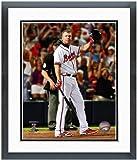 "Chipper Jones Atlanta Braves Final MLB AB Photo 12.5"" x 15.5"" Framed"