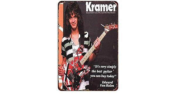Yilooom Kramer Guitarra eléctrica Edward Van Halen Reproducción ...
