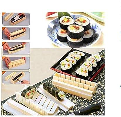 Lingtaihe – Juego de 10 Piezas para Hacer Sushi, Manualidades ...