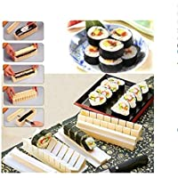 10Pcs/Set DIY Sushi Maker Kit Rice Roll Mold Easy to Use Rice Mold Kitchen Sushi Making Tool Set for Sushi Roll Kitchen…