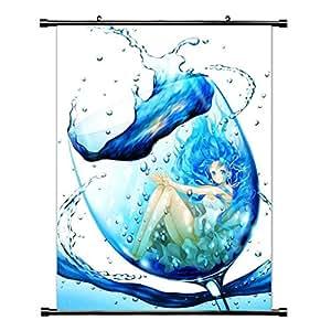 Hatsune Miku Anime/Manga (vocaloid) de desplazamiento de póster (40,64 cm x cm 55,88) pulgada