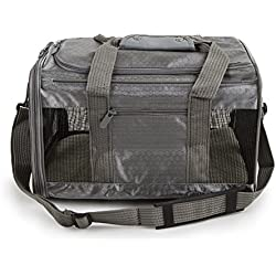 Sherpa to Go Pet Carrier Gray, Medium